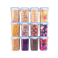 BPA Free Airtight Kitchen Pantry Food Storage Containers
