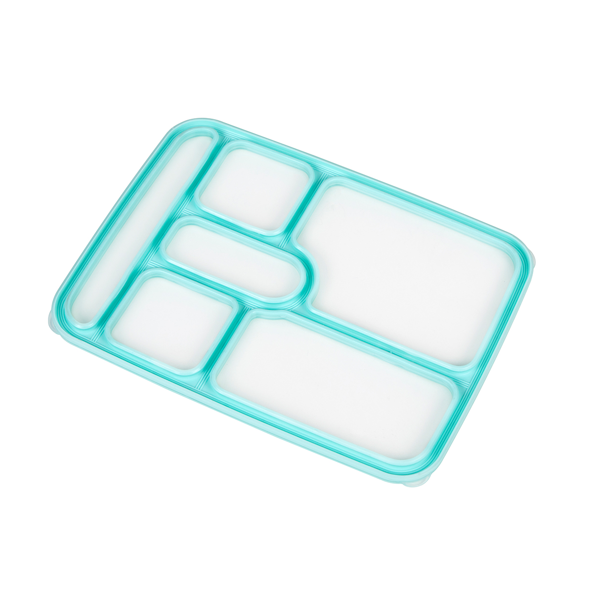 6 compartment lunch box set for kids