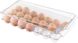 21 Compartments Stackable Egg Holder