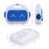 4 Compartments Lunch Bento Box for Kids