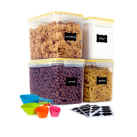 Airtight Food Storage Containers 4 Pieces