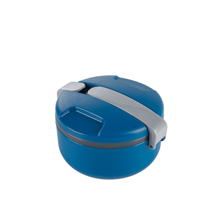 Portable round kids tiffin box PP bento lunch box
