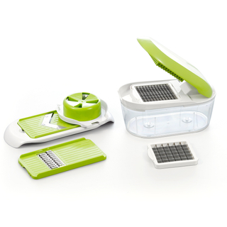 Green Vegetable Fruit Cutter Slicer
