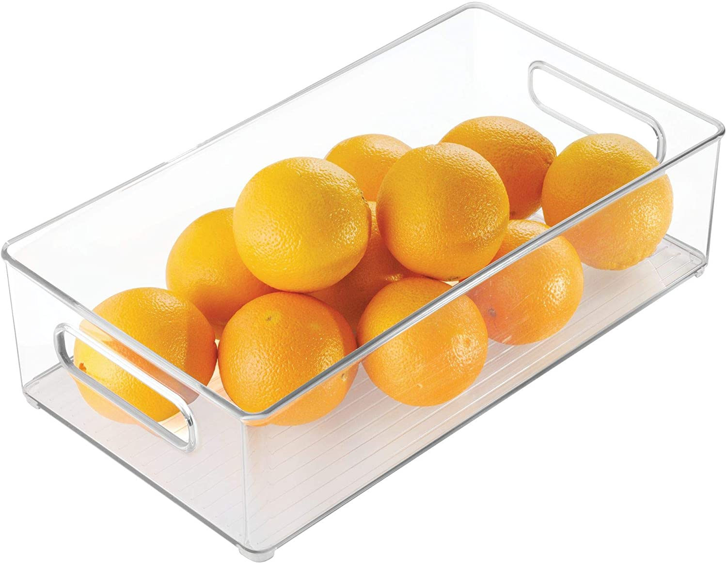 Refrigerator Storage Bins with Handle